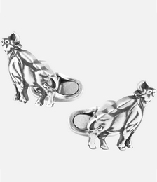 Zodiac Sign Ox Cufflinks