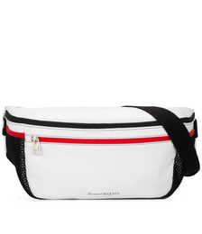 Oversized Double Zip Belt Bag