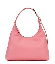Scotty pink leather shoulder bag