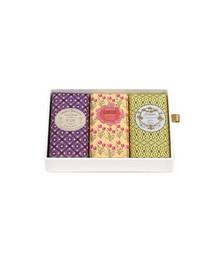 Gift Box Of Bar Soaps, 3 x 150g