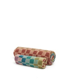 Set of two Yassine hand & bath cotton-terry towels