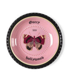 Hollywood butterfly-print trinket tray