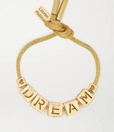 Dream 14-karat gold bracelet