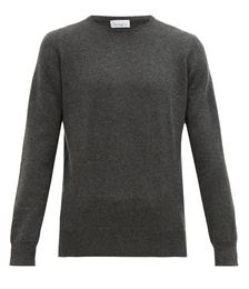 Slim-fit crew-neck cashmere sweater