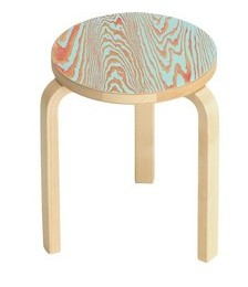 60 round-seat stool