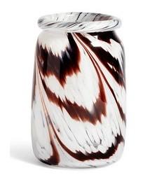 Splash roll-neck vase