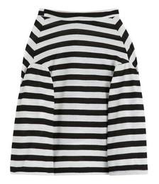 Pet long-sleeved striped T-shirt