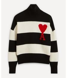 Ami de Cœur Striped Sweater