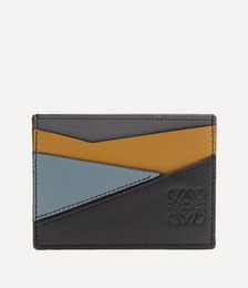 Puzzle Leather Card Holder
