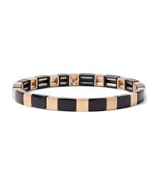 Enamel and Gold-Tone Bracelet