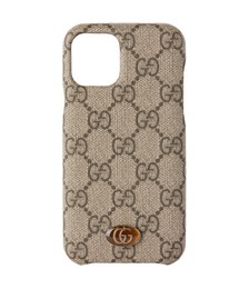 Beige Ophidia GG Supreme iPhone 11 Pro Case