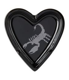 Black Scorpion Heart Ashtray