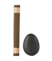 Stone Incense Burner & Sandalwood Incense Set