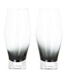 Black Tank Beer Glass Set