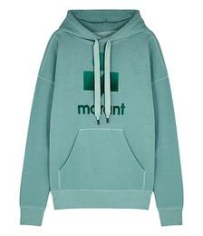 Mansel logo hooded jersey sweatshirt