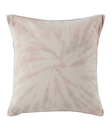 Pink Down Tie-Dye Throw Pillow