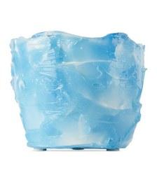 SSENSE Exclusive Blue & White Laurids Gallée Edition Resin Planter