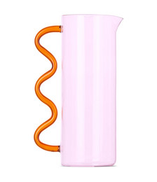 Pink Wave Pitcher