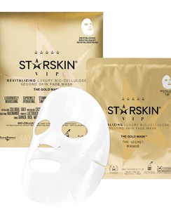 "The Gold Maskâ""¢ VIP Revitalizing Luxury Bio-Cellulose Second Skin Face Mask"