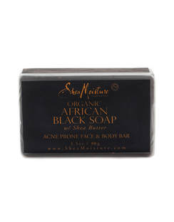African Black Soap with Shea Butter Face Bar