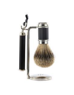 Ebony Wood Shaving Set