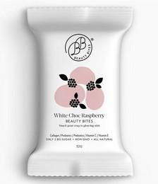 White Choc Raspberry Beauty Bites