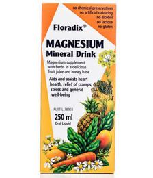 Magnesium Mineral Drink With Herbs in Fruit Juice & Honey Base
