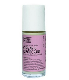 Organic Roll On Deodorant - Rose & Frankincense - 50ml