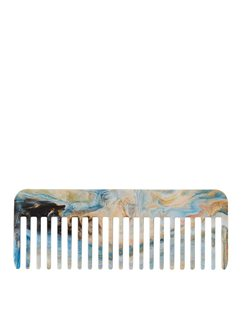 Blue & White Large Recycled Comb