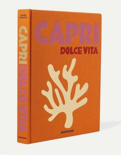 Capri Dolce Vita by Cesare Cunaccia Hardcover Book