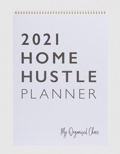 2021 Home Hustle Planner