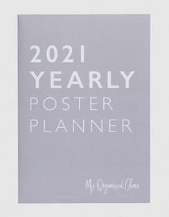 2021 Yearly Poster Planner