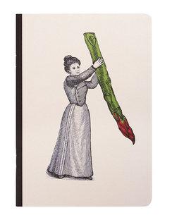 A5 Arti Notebooks - Miss Asparagus