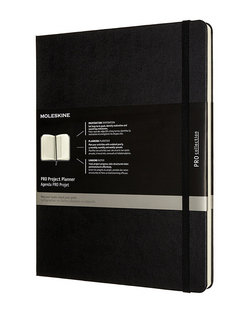 Pro Project Planner - Black - Extra Large