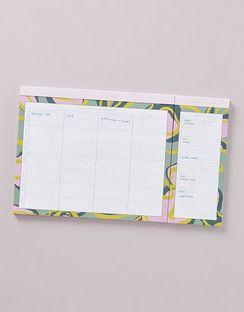 Weekly Meal Planner Notepad