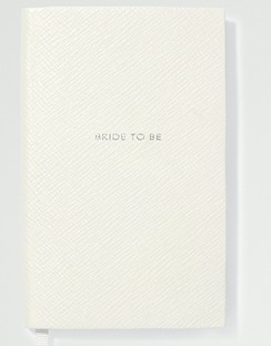 Panama Bride To Be Textured-leather Notebook