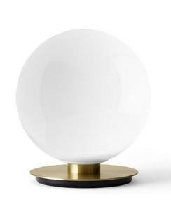 Shiny Opal Table/Wall Lamp - Brushed Brass
