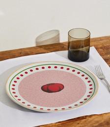 Round Tomato Platter