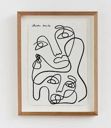 Claudia Miranda x Bed Threads 'Unconditional Love' Print