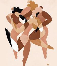 Maggie Stephenson x Bed Threads 'Celebration' Print