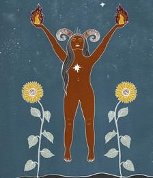 Seeds of Spells x Sisters Village 'Aries' Print