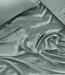 Pure Silk Sage Sheet Set