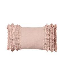 Boracay Long Fringed Blush Cushion