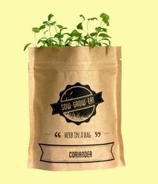 Coriander Herb in a Bag