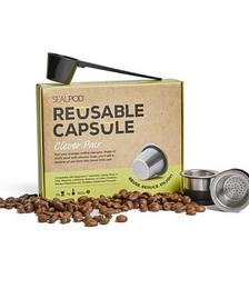 Reusable Coffee Capsules Two Pack