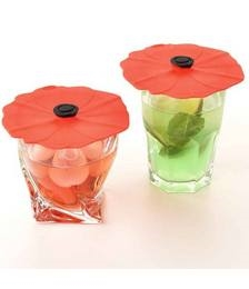 Poppy Drink & Can Covers 2Pk 10cm