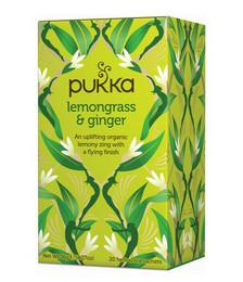 Lemongrass & Ginger Organic Tea - 36g 20 Sachets