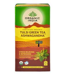 Tulsi Green Tea Ashwagandha - 25 Tea Bags