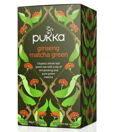 Ginseng Matcha Green Organic Tea - 40g 20 Sachets