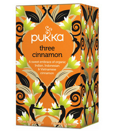 Three Cinnamon Organic Tea - 40g 20 Sachets